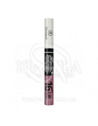 DC Make-up 16H Lip Colour 09 Стійка фарба для губ 2в1, 3 мл + 4.1 мл