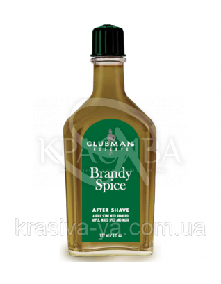 Лосьйон після гоління Clubman Reserve - Brandy Spice After Shave Lotion, 177 мл