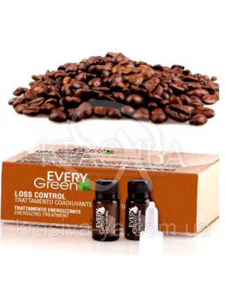 EG Loss Energizzante-Дополнительный уход против выпадения волос с маслом жожоба, экстракт женьшеня, 8*8 мл : Сердства от выпадения волос
