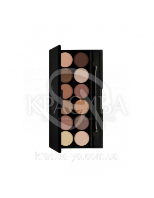 Sleek I-Divine Palette A New Day - Палетка тіней для повік, 12*1.1 м : Sleek make up