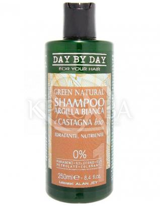 Шампунь для волосся з білою глиною і екстрактом каштана : Alan Jey