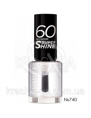 RM 60 Seconds - Лак для ногтей (740-Clear), 8  мл : Лак для ногтей