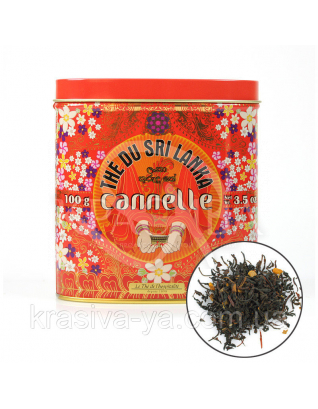 TdO Органический чай с корицей из Шри-Ланка / Organic Cinnamon Tea From Sri-Lanka, 100 г : Органический чай