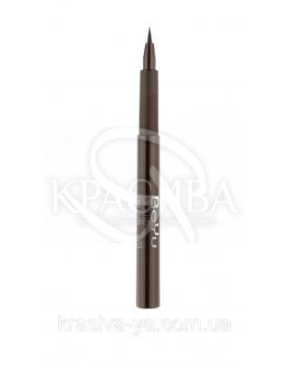 Подводка - фломастер для глаз 03 Touchy Brown, 1.1 мл : Подводка для глаз
