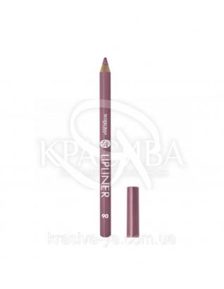 "Косметический карандаш для губ Lip Liner ""New Color Range"" 06 Mauve, 1.5 г : Карандаш для губ"