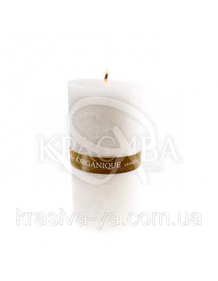 Свічка ароматерапевтична середня 75*75 - Лотос (Білий), 235 г : Декор для дому