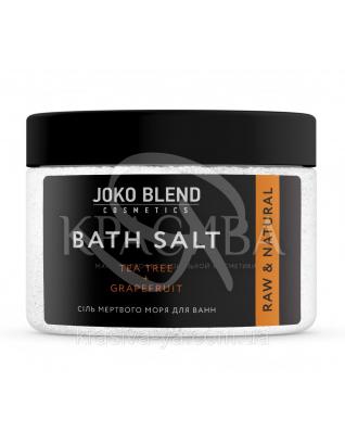Соль Мертвого моря для ванн Чайное дерево-Грейпфрут, 300 г : Joko Blend