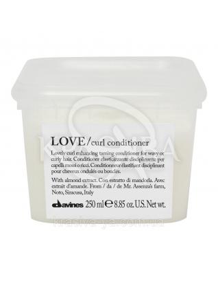 Кондиционер LOVE CURL усиливающий завиток, 250 мл : Davines