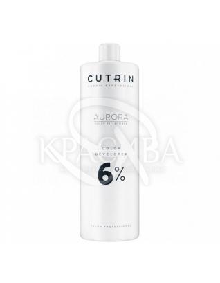 Cutrin Aurora Color Developer - Проявитель 6%, 1000 мл