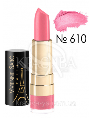 VS Rouge Charmant - Помада-бальзам увлажняющий (610-розовый), 4 г : Губная помада