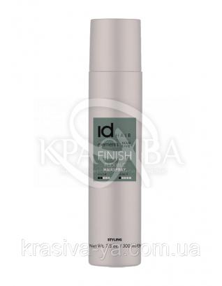 Finish Flexible Лак для волосся Hairspray еластичної фіксації, 300 мл : ID Hair