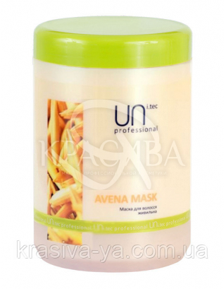 Uni.tec Avena Mask Маска для волосся поживна з протеїнами вівса, 1000 мл : UNi.tec professional
