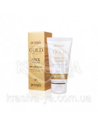 Крем для шиї і декольте з золотом Petitfee Gold Neck Cream, 50г : PETITFEE