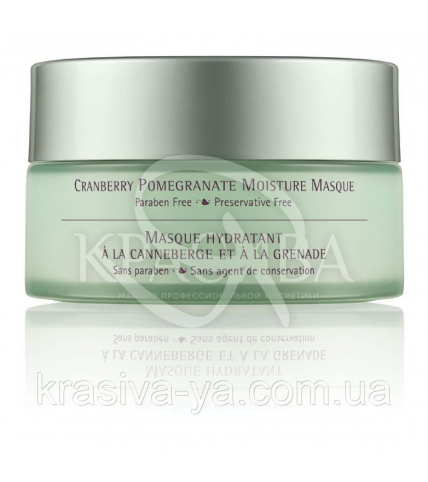 Cranberry Pomegranate Moisture Masque - Зволожуюча маска для обличчя з екстрактом журавлини і граната, 107.8 мл - 1