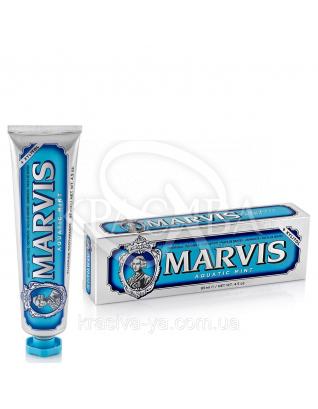 Marvis Aquatic Mint - Зубная паста Морская Мята, 85 мл
