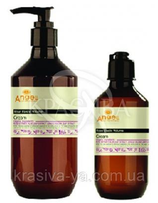 Крем для создания упругой объемной прически с экстрактом розы, 200мл : Крем для стайлинга волос