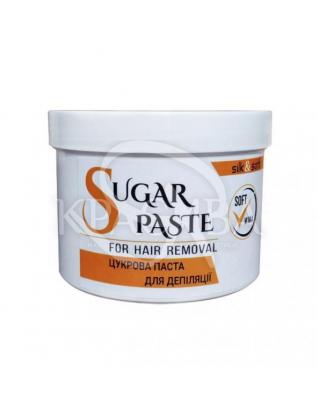 Silk&Soft Сахарная паста для депиляции Мягкая Soft, 500 г + 150 г : Паста для шугаринга
