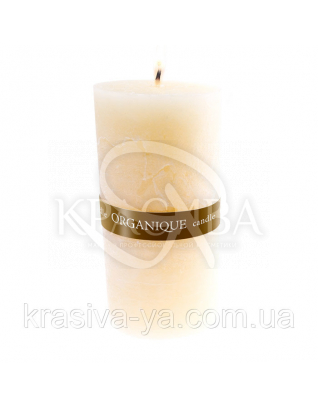 Свічка ароматерапевтична велика 150*70 - Ваніль (Бежевий), 570 г : Декор для дому