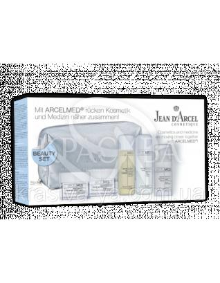 Beauty ArcelMed Set - Дорожный набор ArcelMed (очищение/крем день/ ночь), set : Дорожные мини-наборы для лица