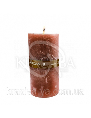 Свеча ароматерапевтическая средняя 75*75 - Корица (Коричневый), 235 г : Товары для дома