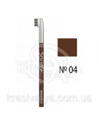 BJ Sourcil Precision - Олівець для брів (04-світло-коричневий), 1.13 р : Bourjois