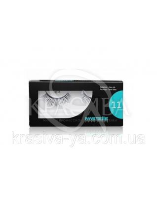 Eyelashes Стрічкові вії (середні), 1 пара : Nastelle
