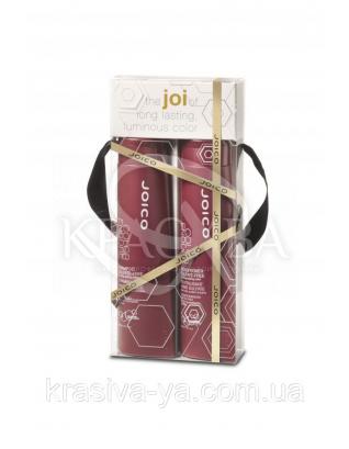Набор подарочный (шампунь для стойкости цвета + кондиционер для стойкости цвета), 300мл + 300мл : Beauty-боксы для волос
