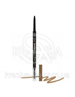 L.A.Girl GB352 Shady Slim Brow Pencil Taupe - Карандаш для бровей (для русых) : Карандаш для бровей