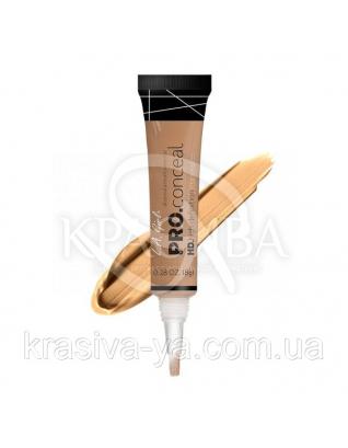 L.A.Girl GC 982 Pro Conceal HD Concealer Warm Honey - Консилер под глаза (теплый мед), 8 г : Консилер для лица