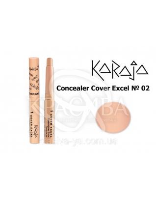 Karaja Корректор - карандаш Conceler Cover Excel 02, 2.5 г : Корректор для лица