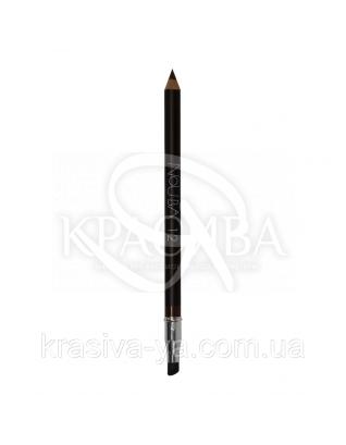 """Косметичний олівець для очей з аплікатором """"Eye Pencil With Applicatorom"""" 12 коричневий, 1.18 р : Nouba"""