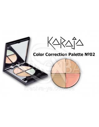 Karaja Коректор Palette Color Correction 2, 4 мл