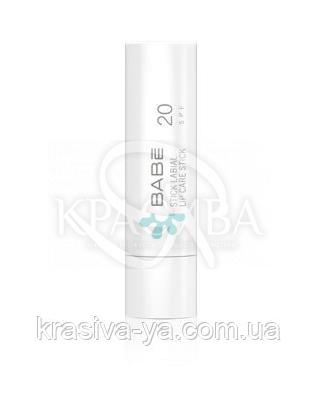 Бальзам для губ Babe Laboratorios Lip Care Stick SPF 20, 4г : Уход для губ