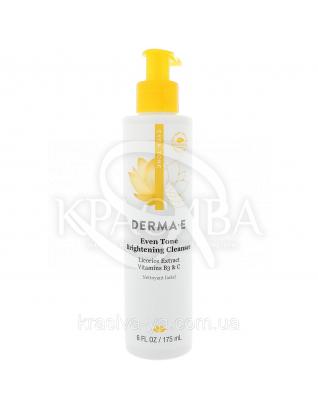 Осветляющее средство для умывания Evenly Radiant с витамином С - Evenly Radiant Brightening Cleanser, 175 мл : Гель для умывания