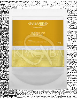 Альгінатна маска з золотом Gold Alga Mask, 100 г : Sanmarine