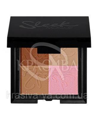 Sleek Bronze Block Dark - Бронзатор, 9.3 г : Бронзер