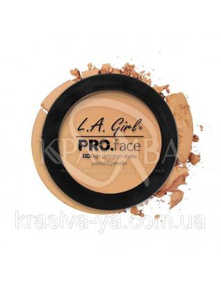 L.A.Girl GPP 610 Pro Face Pressed Powder Classic Tan - Матовая пудра для лица, 7 г : Пудра для лица