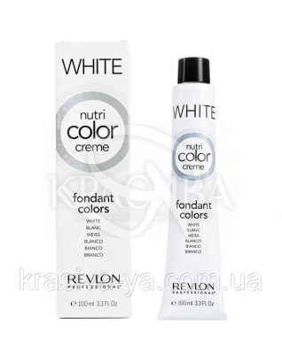 Тонирующий бальзам для волос 000 Белый крем, 100 мл