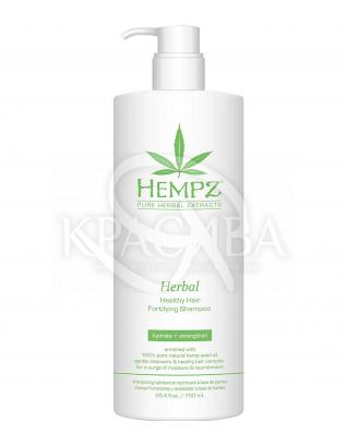 Укрепляющий натуральный шампунь для волос, 750 мл : Шампунь безсульфатный