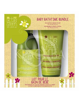 Набор для новорожденных (Шампунь для волос и тела + Питательный лосьон) : Наборы для детей