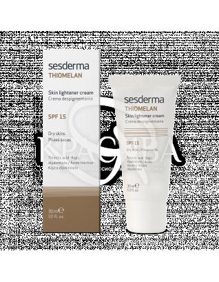 Thiomelan Skin Lightener Cream SPF 15 - Отбеливающий крем с SPF 15, 30 мл