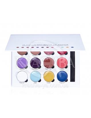 Палетка для губ 12 Color Pro Matte Lip Palette : Палетки