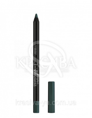 "Подводка для глаз 2в1 ""Gel Kajal & Eyeliner"" 04 Green, 2.4 г : Подводка для глаз"