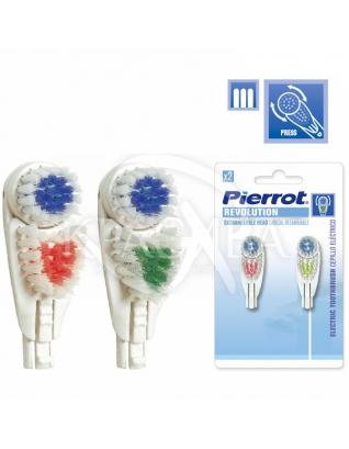 Пирот Насадка сменная для зубной щетки Revolution : Сменные насадки для зубных щеток