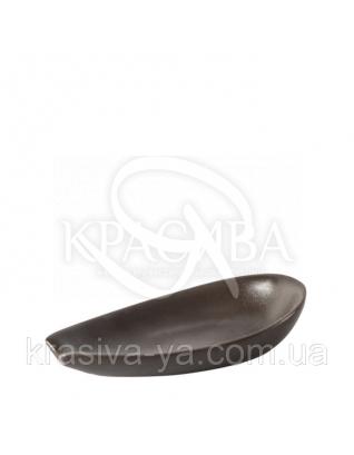 Підставка керамічна форма сльоза GU 1015 Коричневий : Аксесуари для ванної