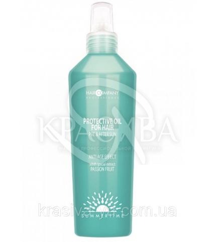 Защитное масло для волос до и после загара, 150 мл - 1