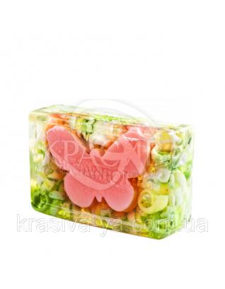 Глицериновое мыло куб ORG - Бабочка, 100 г : Мыло