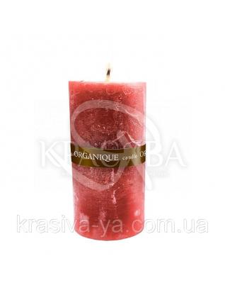 Свеча ароматерапевтическая средняя 75*75 - Смородина  (Красный), 235 г : Товары для дома