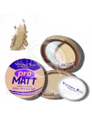 VS Pro Matt Powder Пудра компактна матирующа 425, 8 г : Пудра для обличчя