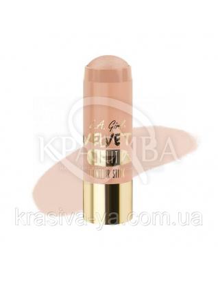 L. A. Girl GCS 582 Velvet Contour Sticks Hi-Lite - Radiance - Оксамитовий контур в стіку, 5.8 м : Хайлайтери